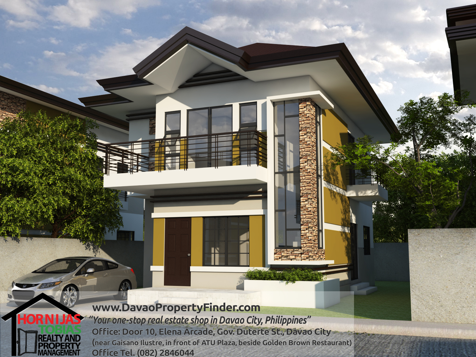 2 storey house and lot in ilumina estates davao property for Two storey residential house design
