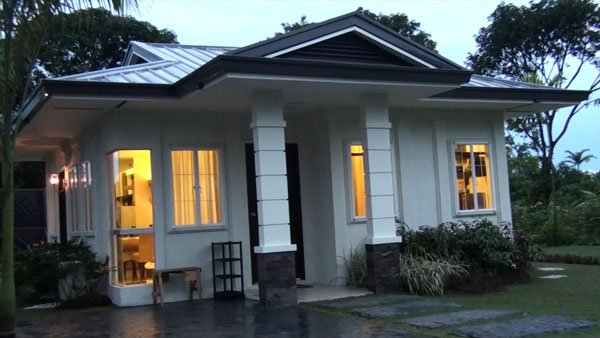 This is an actual photo of House model Hana at Bambu Estate. This Davao house has 2 bedrooms and 1 toilet and bath. Can be thru In-house, Bank or Pag-ibig financing.