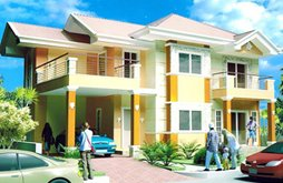 Bramante house - high-end subdivision in Davao City, Philippines