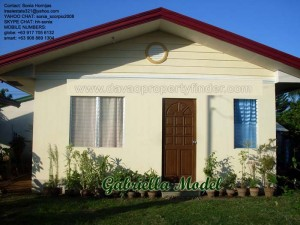 Gabriella is an affordable house for sale in Davao City's Elenita Heights Subdivision. Avail this through Pag-ibig housing.