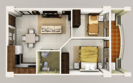 2 Bedroom Condo Unit Linmarr Towers Davao Property Finder