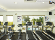 gym equipments at villa de mercedes