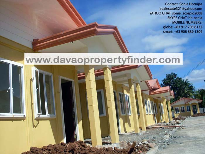 Low Cost houses for Sale in Davao City