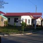 Actual Pictures at Elenita Heights, a low cost housing in Davao that offers affordable houses for sale and for construction.