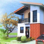 Villa Monte Maria's Azalea house and lot package has 2 bedrooms and 2 toilets and baths