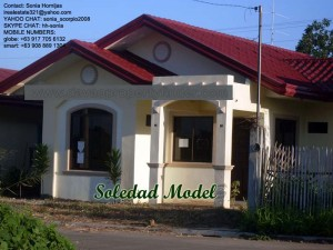 Soledad is a 3-bedroom house and lot package at Elenita Heights. Looking for Davao houses for sale? Check out the affordable homes in this subdivision.