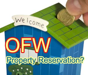 How OFWs can reserve properties in Davao, Philippines