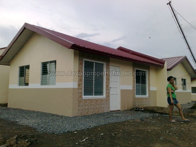 This is a model house at Deca Homes Esperanza