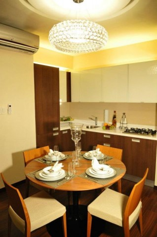 2 Bedroom Executive Kitchen at Aeon Towers Davao City