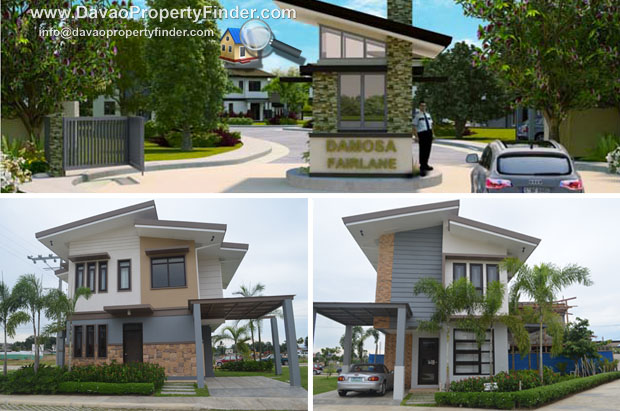Damosa Fairlane is a high-end subdivision in the prime district of Damosa, Davao City