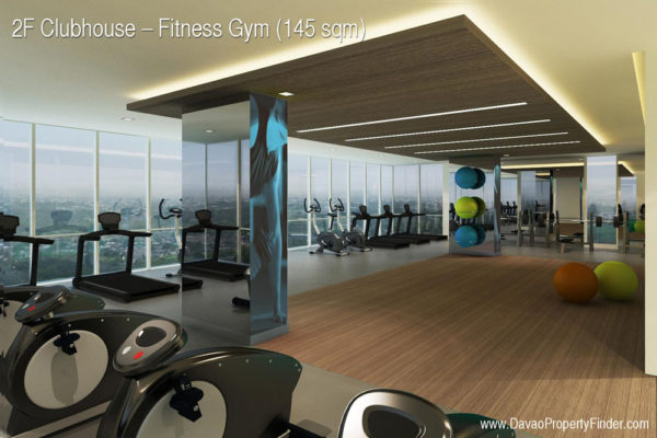 fitness gym clubhouse abreeza place