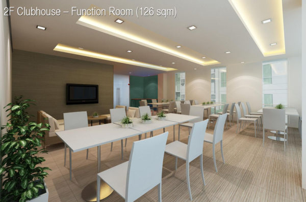function room at abreeza place clubhouse