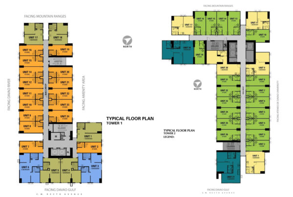 Avida Towers Davao Floorplan