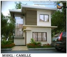 Camille house at Prestige Subdivision Cabantian