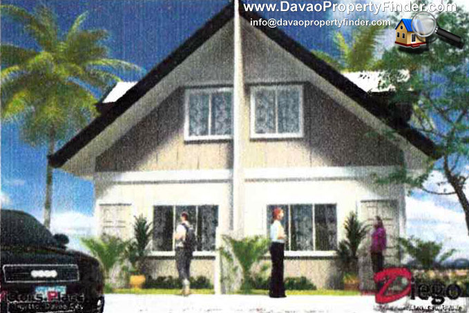 Diego house at Prestige Subdivision Cabantian