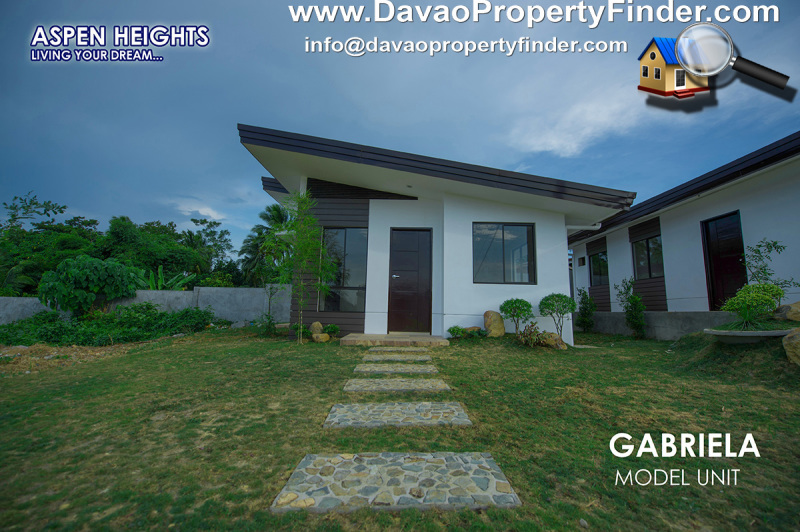 front gabriela house at Aspen Heights, Communal, Buhangin, Davao City