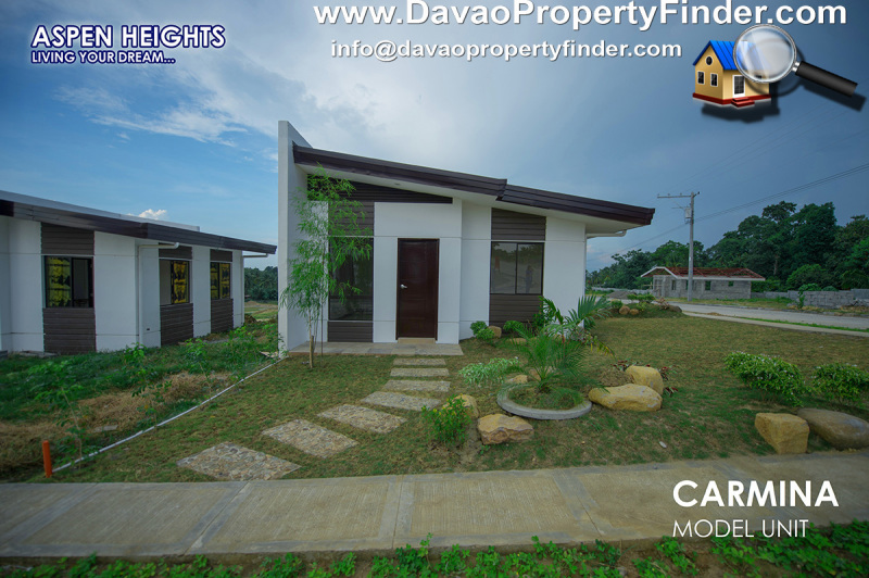 front Carmina house at Aspen Heights, Communal, Buhangin, Davao City