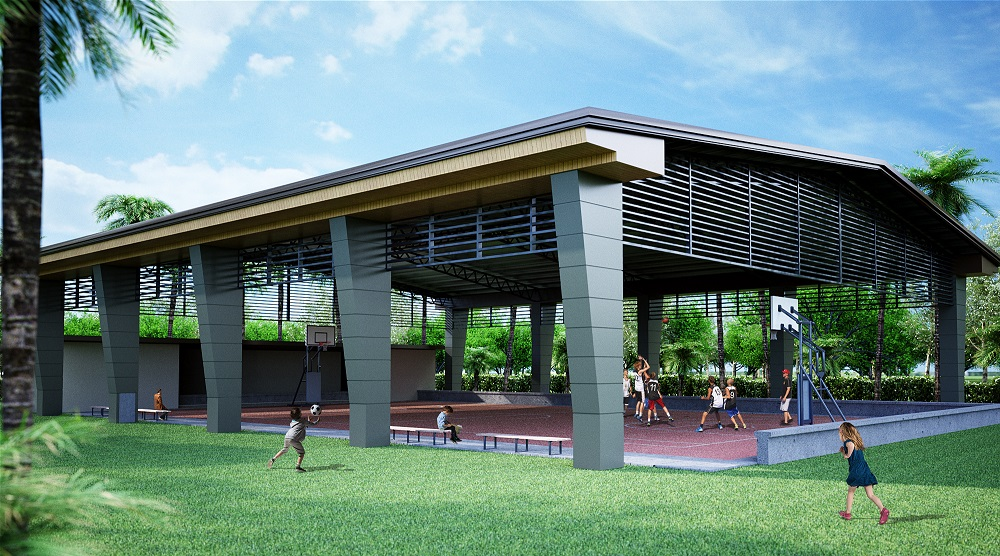 Covered Court - features and amenities in Granville Crest, Catalunan Pequeño, Davao City