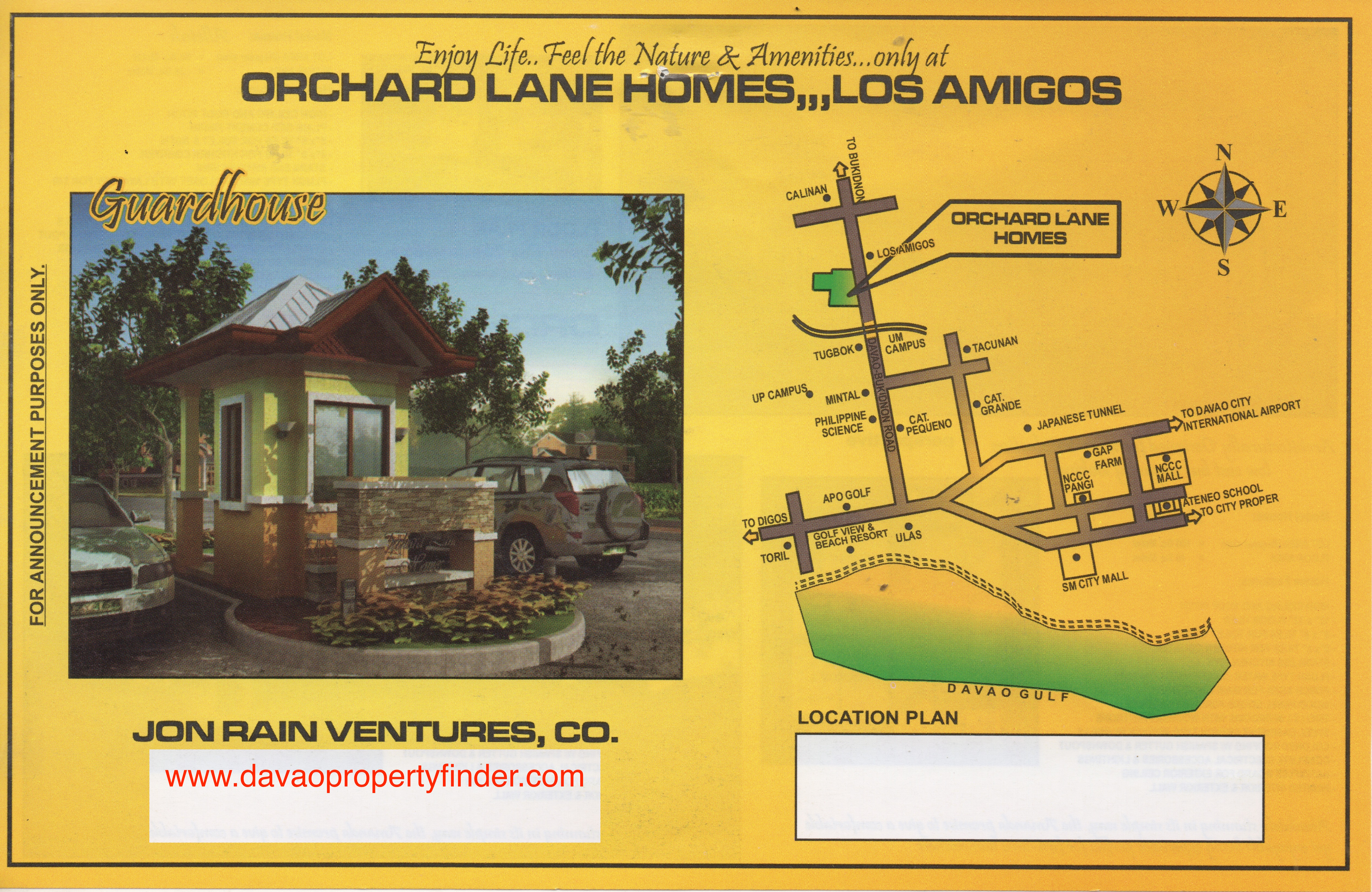 Orchard Lane Homes - front
