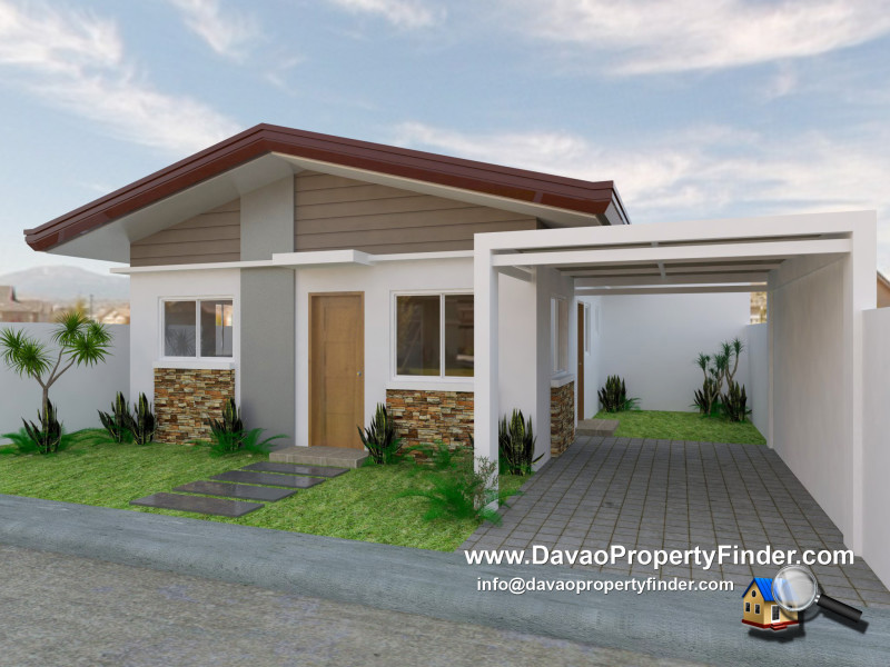 Simeona Exterior Perspective - Elenita Heights Park Villas, Catalunan Grande, Davao City