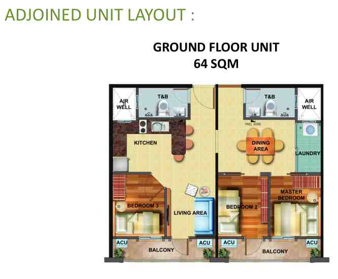 Adjoined Unit - Arezzo Place Davao