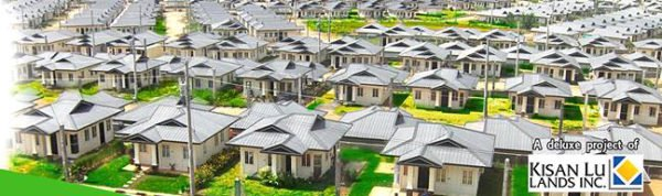 This is sample aerial view of Bambu Estate Subdivision   Housing Project, Mintall, Davao City.