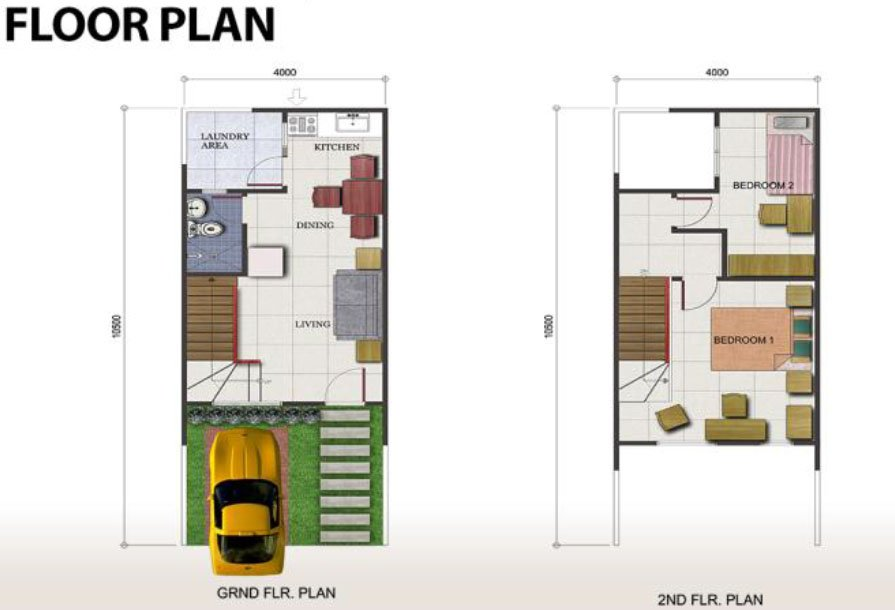 Portville Davao House Floor Plan