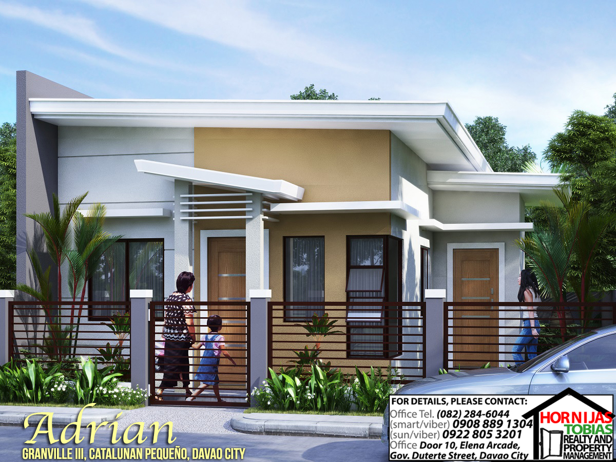 Adrian House Lot Package Granville Iii on small modern house designs philippines