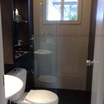 Toilet and bath with fixtures - beautifully designed low cost house model in Davao City