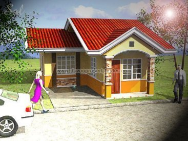 Sol house and lot package at Chula Vista Davao. Has 2 bedrooms and 1 toilet and bath. May be avaied through Pag-ibig housing in Davao.