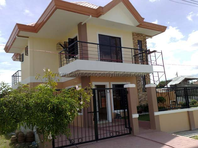 Ready For Occupancy 2 Storey House Priscilla Estate on Two Story House Designs Philippines