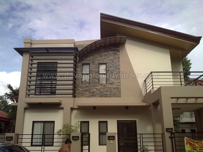 Beautiful 2 storey house for sale at woodridge davao for 2 storey house for sale