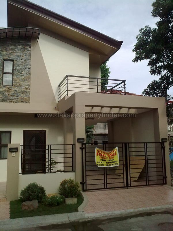 Beautiful 2 Storey House For Sale At Woodridge Davao