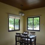 ilang ilang villa senorita dining area