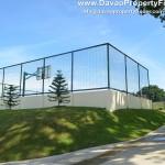 Basketball court at Ilumina Estates Buhangin