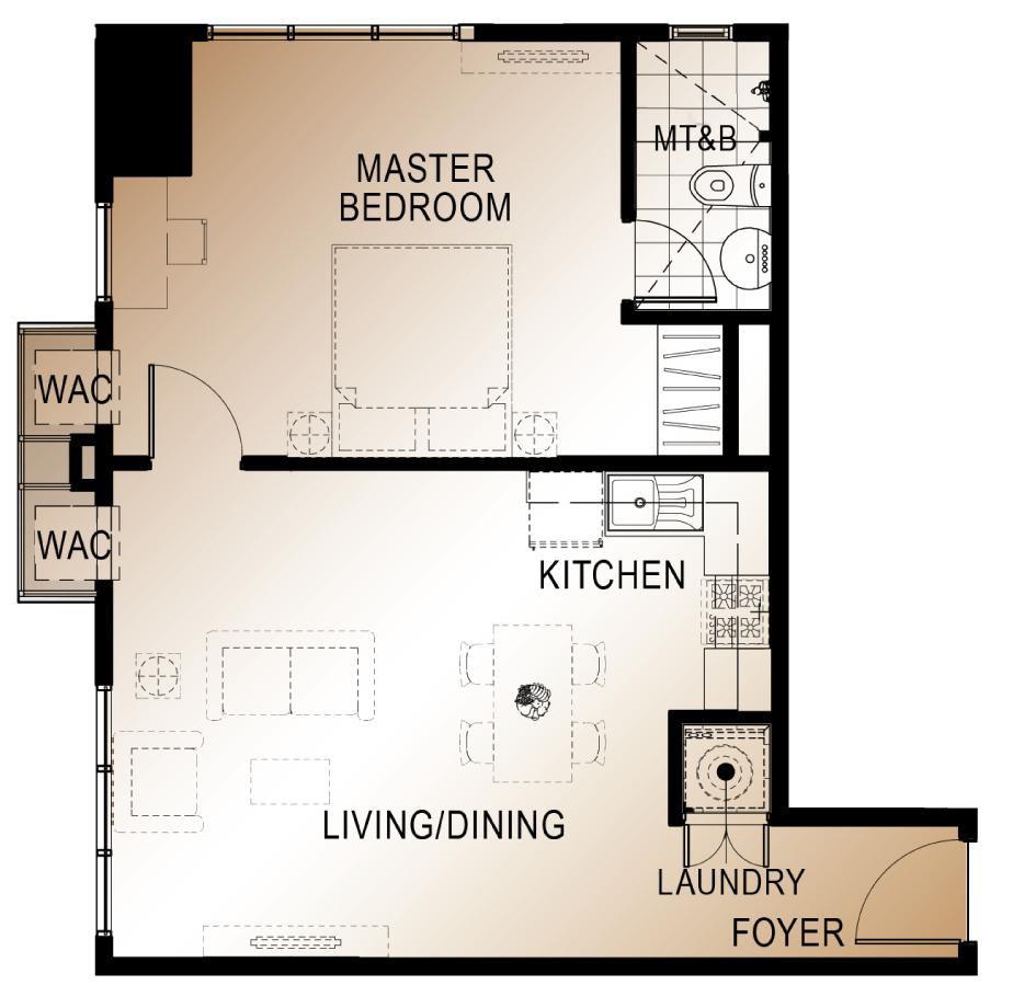 1 bedroom unit abreeza place Davao City