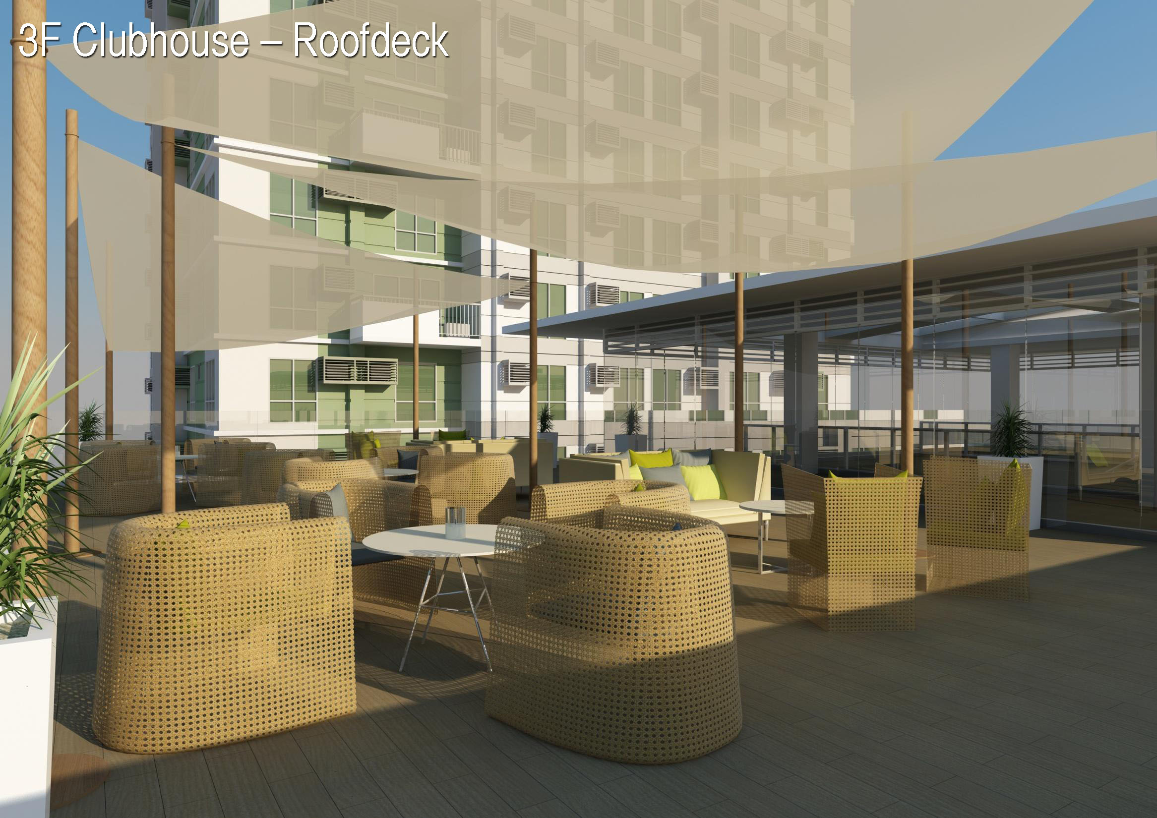 roofdeck at the clubhouse abreeza place davao