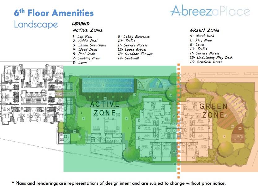 6th floor amenities