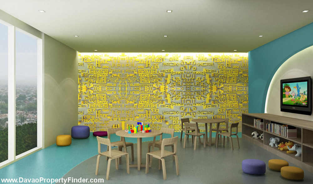 In-Door playroom at kid's house abreeza place amenities