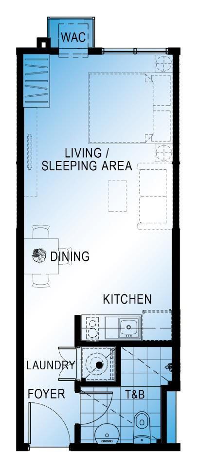 studio unit floor plan abreeza place