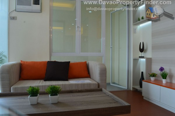 fully furnished unit studio type unit at vivaldi residences davao