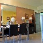 dining room 2 bedroom with balcony Verdon Parc Condominium