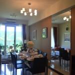 showroom unit for 2 bedroom with balcony Verdon Parc Condominium