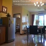 kitchen area 2 bedroom with balcony Verdon Parc Condominium