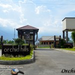 Featuring the entrance gate of Orchid Hills