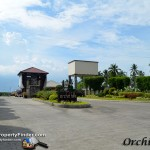 Nice entrance of the Orchid Hills Subdivision