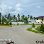 Main road of Orchid Hills Davao