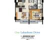 1BR 47.50sqm UnitsIJKL One Lakeshore Drive