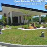 Front view of the clubhouse at Celerina Heights, Cabantian, Buhangin, Davao City