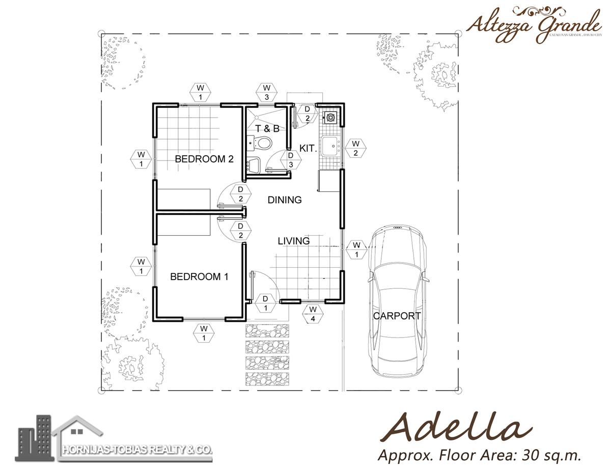 Adella house in altezza grande catalunan grande davao for Floor plan finder
